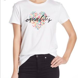 Equality graphic tee small
